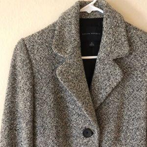 Banana Republic Tweed Wool Pea Coat